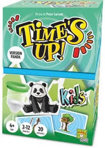 Time's up! Kids (version panda)