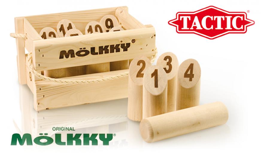 Mölkky Original (caisse en bois)