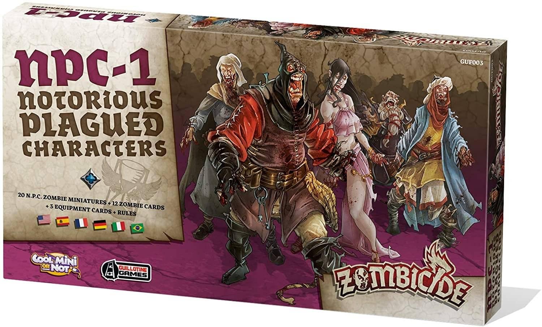 Zombicide Black Plague : Notorious Plagued Charactere #1