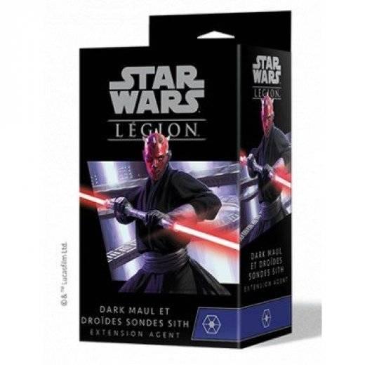 SW Légion - Dark Maul et droïdes sondes sith