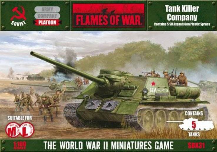 FoW - USSR - Tank Killer Company