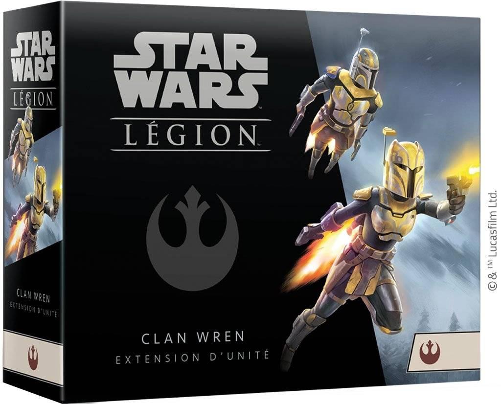 SW Légion : Clan Wren extension d'unité