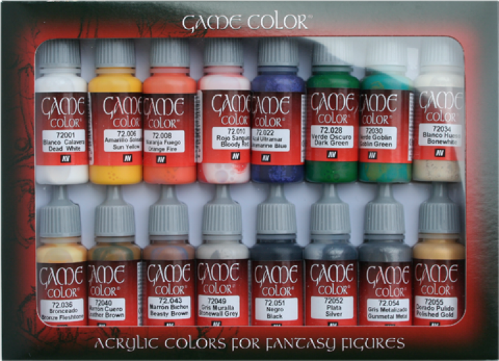 Game color Introduction set