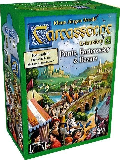 Carcassonne ext. 8 : Ponts, Forteresses et Bazars