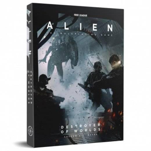 Alien le jeu de rôle - le destructeur des mondes