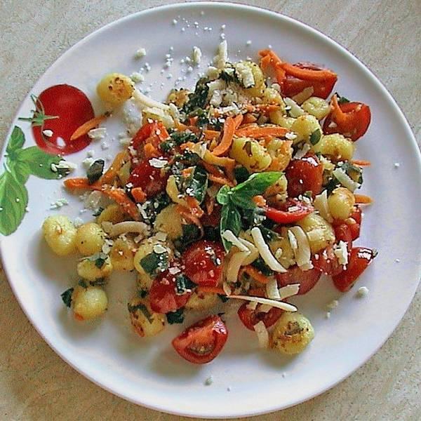 Gnocchi al forno mit Mozzarella
