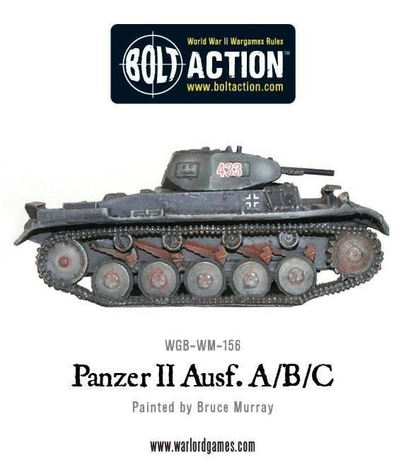 BA - German - Panzer II AUSF A/B/C