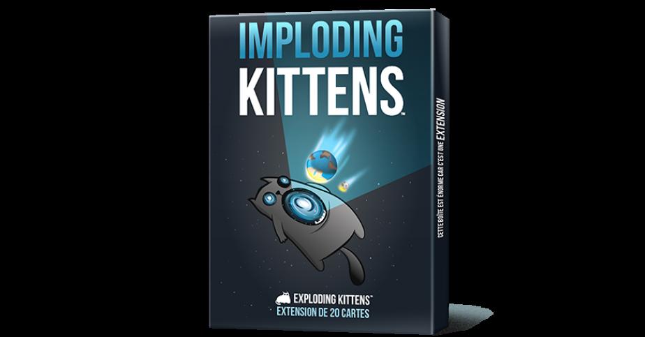 Exploding Kittens : Imploding Kittens (Extension)