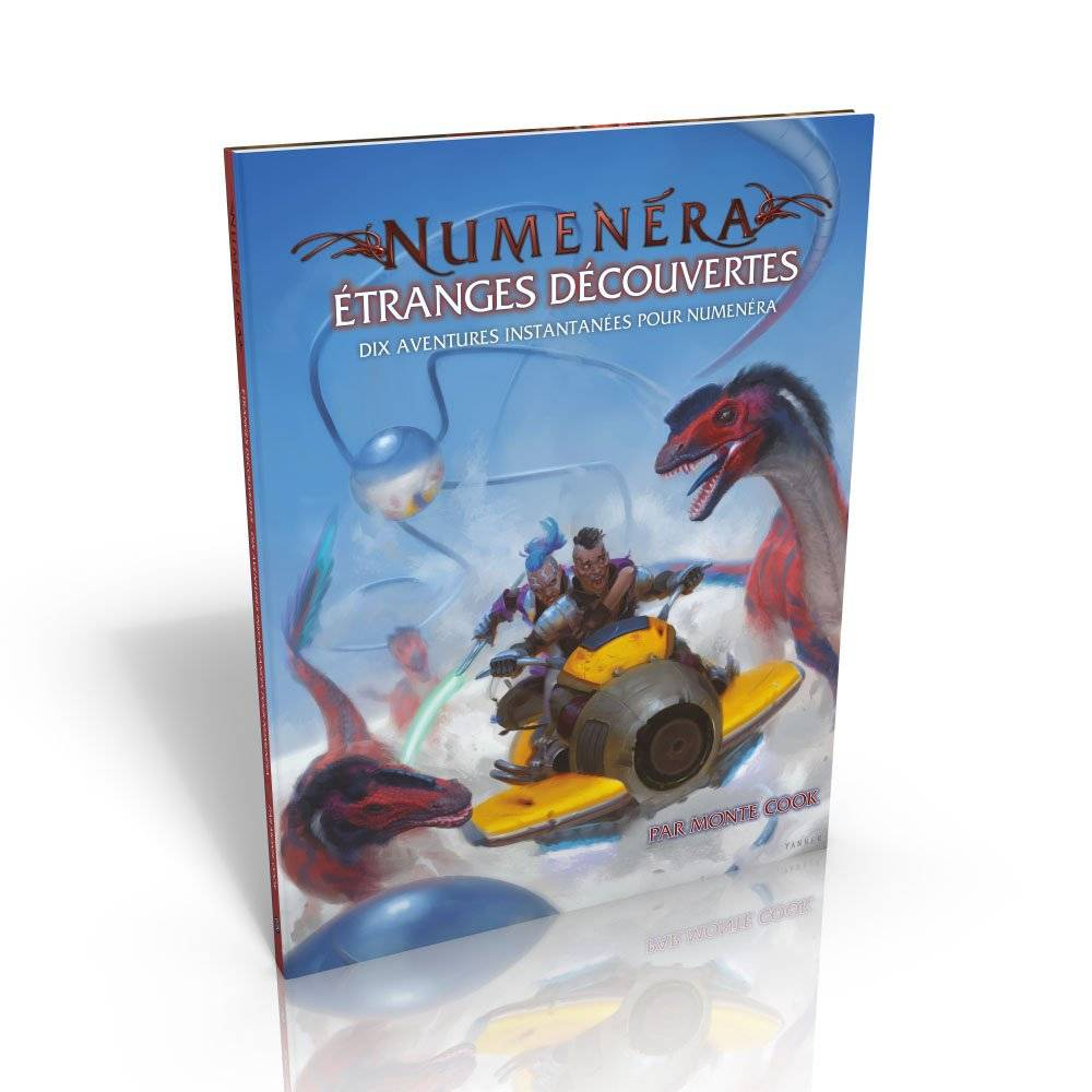 Numenéra - étrange découverte dix aventures instantanées pour Numenéra