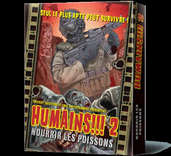 Humains 2 !!! NOURRIR LES POISSONS
