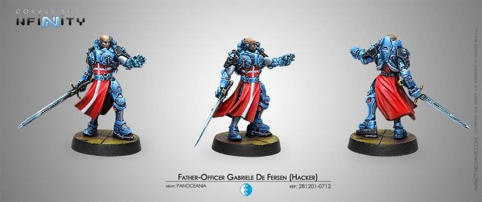 Inf - Panoceania - Father-Officer Gabriele De Fersen