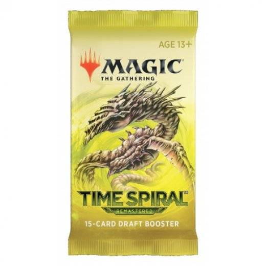 Magic - Spirale temporelle remastered booster (fr)