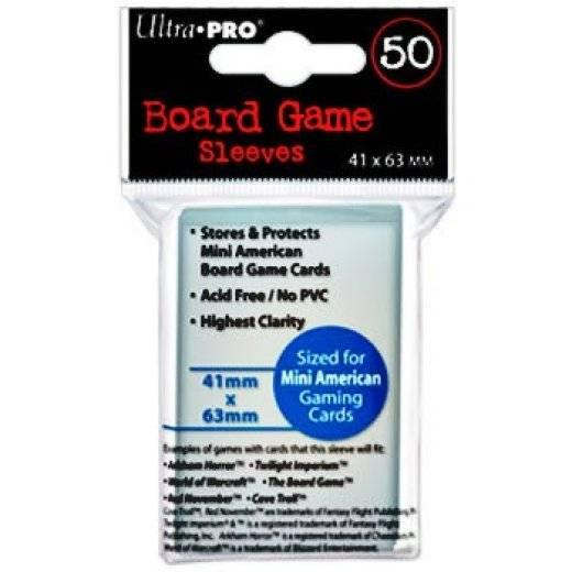 Protège carte mini American x50 (41x63mm)