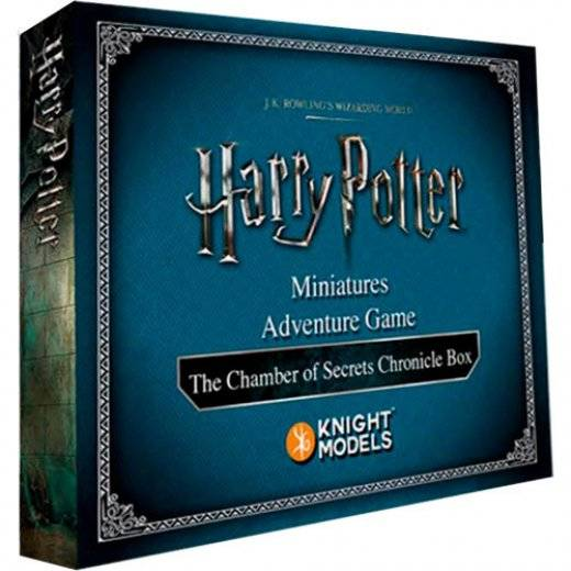 harry potter miniatures - the chamber of secrets chronicle box