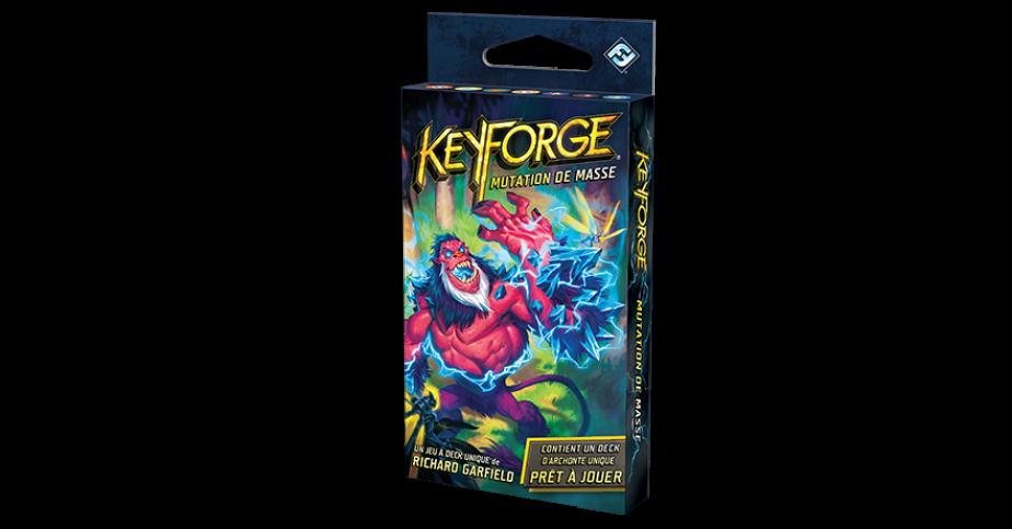 Keyforge Deck : mutation de masse