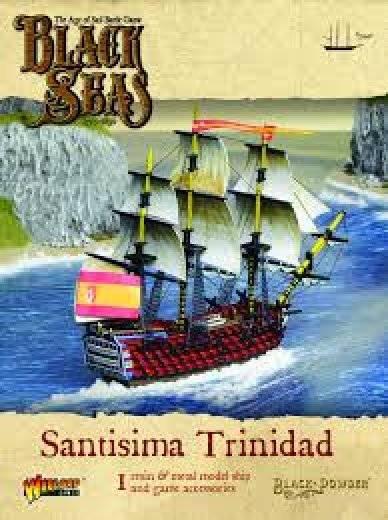Black seas : Santisima Trinidad