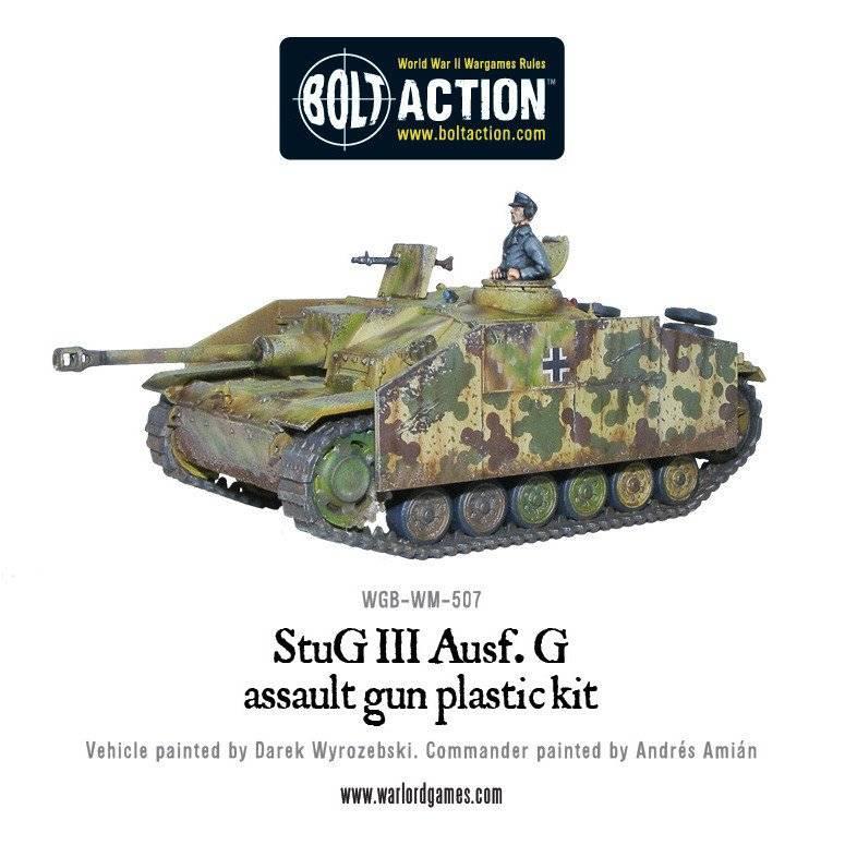 BA - German - Stug III Ausf G