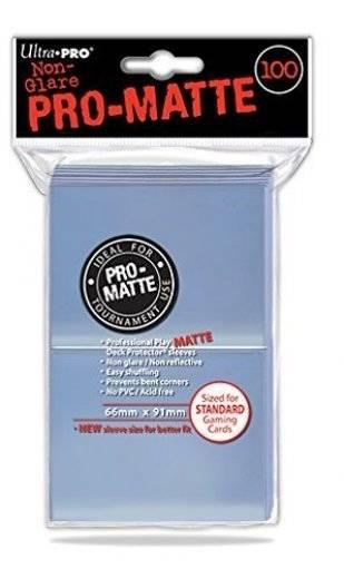 Protège carte standard transparent x100 Pro matte