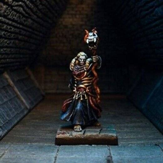 Dungeon Saga: Mortibris The Necromancer