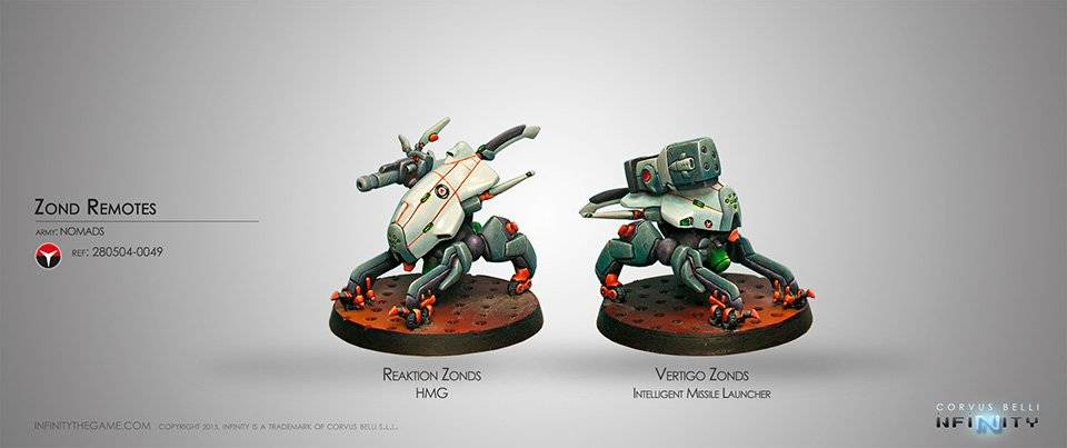 INF - Nomads - Zond Remotes