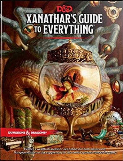 D&D next - Xanathar's guide to everything (eng)