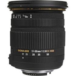 Comprar en oferta Sigma 17-50mm f2.8 EX DC OS HSM