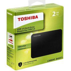 """Comprar en oferta Toshiba Canvio Basics 2.5"""" 2TB USB 3.0 Negro"""