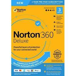 NortonLifeLock Norton 360 Deluxe - Software antivirus y de seguridad