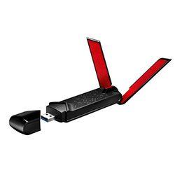 Asus USB-AC68 AC1900, WLAN-Adapter - Adaptadores wifi