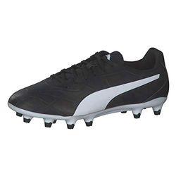 Puma Hombre Monarch FG black/white - Botas de fútbol