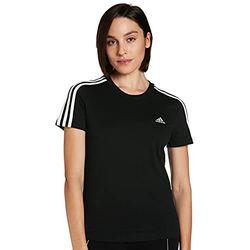 Adidas Women's Essentials Linear Tee - Camisetas mujer