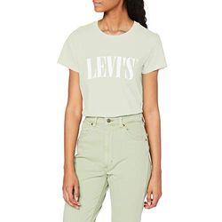 Levi's The Perfect Graphic Tee serif logo bok choy (17369-1056) - Camisetas mujer