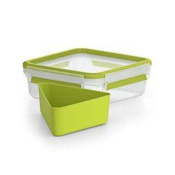 Emsa Clip & Go Sandwichbox 0,85 L - Portalimentos