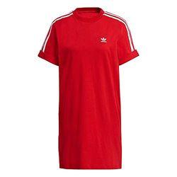 Adidas Originals Adicolor Classics Roll-Up Sleeve Tee Dress - Vestidos