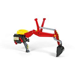 Comprar en oferta Rolly Toys Pala mecánica roja