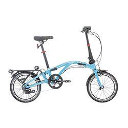 Dahon Curl i7U L blue - Bicicletas plegables
