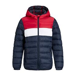Jack & Jones Jjemagic Puffer Hood Jr (12177369) navy blazer - Chaquetas y abrigos para niños