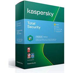 Kaspersky Total Security 2021 - Software antivirus y de seguridad