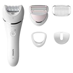 Philips Epilator Series 8000 BRE710/00 Wet & Dry - Depiladoras