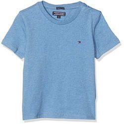 Tommy Hilfiger Essential Organic Cotton T-Shirt (KB0KB04140) dark allure heather - Camisetas niños