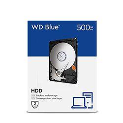 Western Digital SATA Retail Kit 500 GB (WDBMYH5000ANC) - Discos duros