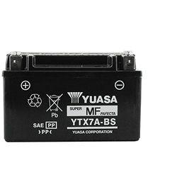 Yuasa 12V 6Ah YTX7A-BS - Baterías de moto