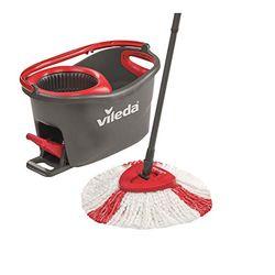 Vileda EasyWring & Clean Turbo Spin Mop - Utensilios de limpieza