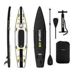 Gymrex SUP 120 kg Set black/yellow (GR-SPB375) - Paddle Surf