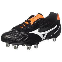 Mizuno Waitangi CL black white/orange clown fish - Botas de rugby