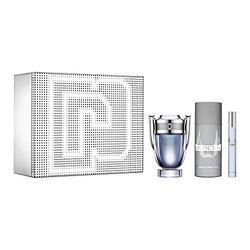 Paco Rabanne Invictus Set (EdT 100 ml + EdT 10 ml + Deo 150 ml) - Sets de belleza