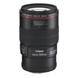 Canon EF 100mm f/2.8L Macro IS USM - Objetivos