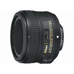 Nikon AF-S Nikkor 50 mm f1.8 G - Objetivos
