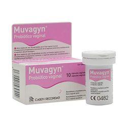 Muvagyn probiótico vaginal (10 caps) - Medicamentos para la mujer