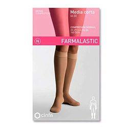 Farmalastic Media corta Compresión normal A-D beige - Medias de compresión